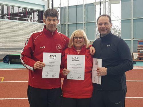 Neu lizenzierte C-Trainer Leistungssport